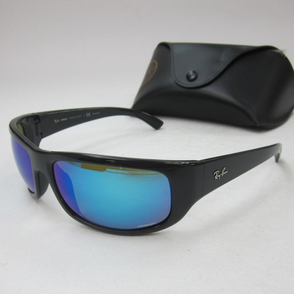 bc2f4e5f7f RayBan RB4283-CH CHROMANCE Men s Sunglasses OLL801.  M 5b4f9e481b329458f033878a